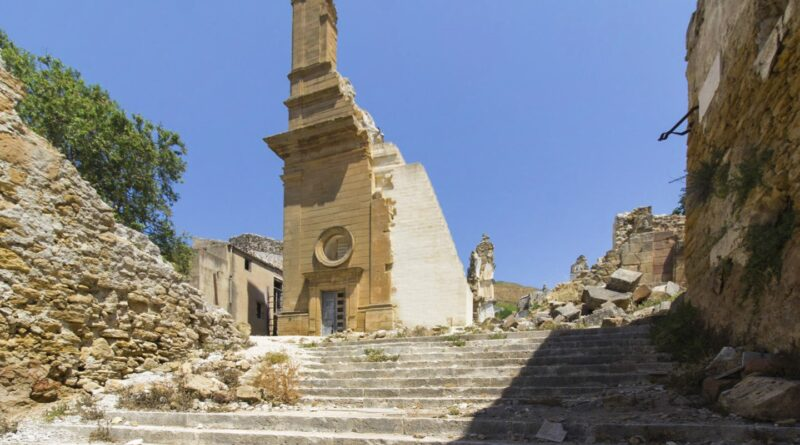 paese abbandonato sicilia